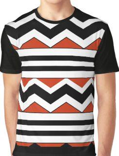 Chevron and stripes Graphic T-Shirt
