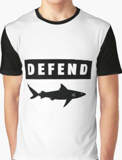 Defend sharks Graphic T-Shirt
