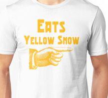 Eats yellow snow Unisex T-Shirt