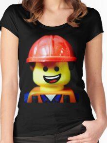 Hard Hat Emmet Women's Fitted Scoop T-Shirt