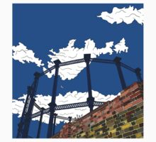 Regent's Canal Gas Tower One Piece - Long Sleeve