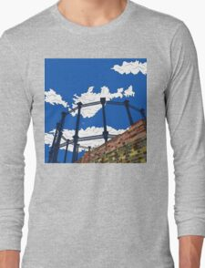 Regent's Canal Gas Tower Long Sleeve T-Shirt