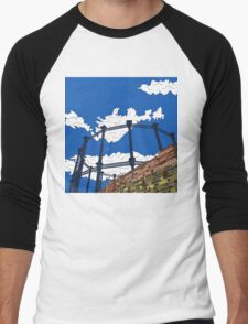 Regent's Canal Gas Tower Men's Baseball ¾ T-Shirt