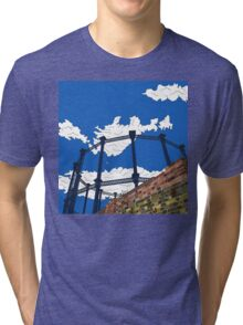 Regent's Canal Gas Tower Tri-blend T-Shirt