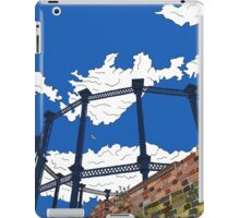 Regent's Canal Gas Tower iPad Case/Skin