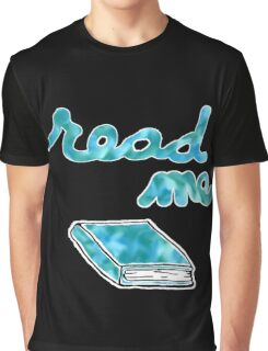 Read Me in Blue Graphic T-Shirt