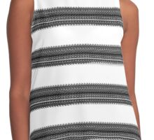 Black and White Dress Contrast Tank