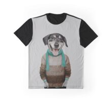 happy dog Graphic T-Shirt