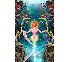 Mother Nature/Evolution Design Photographic Print