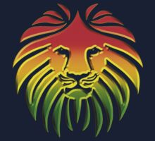 Like a Lion, Reggae, Rastafari, Africa, Jah, Jamaica,  One Piece - Short Sleeve