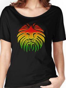Like a Lion, Reggae, Rastafari, Africa, Jah, Jamaica,  Women's Relaxed Fit T-Shirt