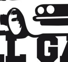 All Gas No Brakes Sticker