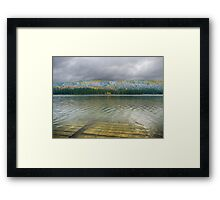 Meanwhile In Canada Framed Print