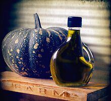 Pumpkin and Olive Oil by Clare Colins