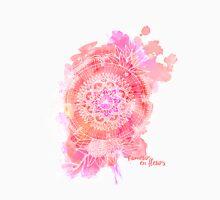 l'amour en fleurs mandala Unisex T-Shirt