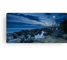 Sunrise at Wellington Point Jetty, Queensland, Australia Canvas Print