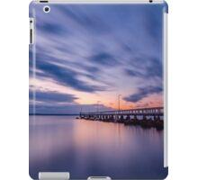 Sunrise at Wellington Point Jetty, Queensland, Australia iPad Case/Skin