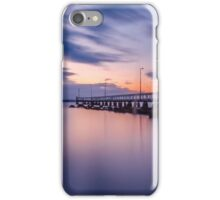 Sunrise at Wellington Point Jetty, Queensland, Australia iPhone Case/Skin
