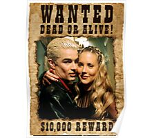 Buffy Spike Harmony Wanted Poster
