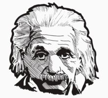 Einstein Illustration by MusaDArt
