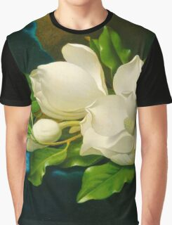 Giant Magnolias Fine Art Graphic T-Shirt