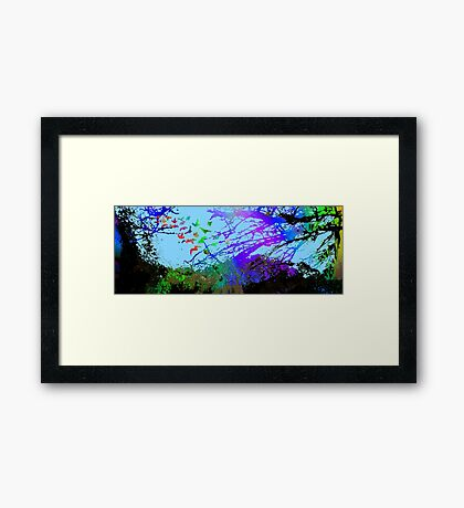 Forest Uprising Framed Print