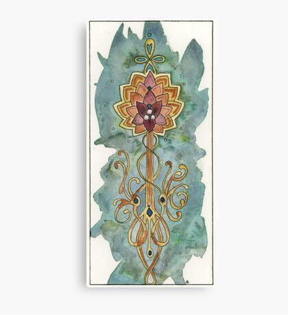 Rowan Totem Canvas Print