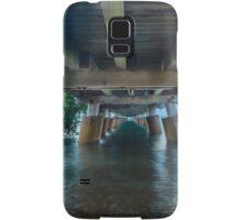 Underneath Wellington Point Jetty, Queensland, Australia Samsung Galaxy Case/Skin