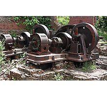 Mount Beacon Wheel House Photographic Print