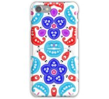 Fresh Bright Modern Paisley Patterned iPhone Case/Skin