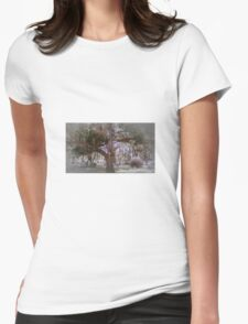 Tree of Ages Artistic Unique Photograph Home Decor Womens Fitted T-Shirt