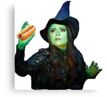 Wicked - Hot Dog  Canvas Print