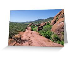 Trading Post Trail Greeting Card