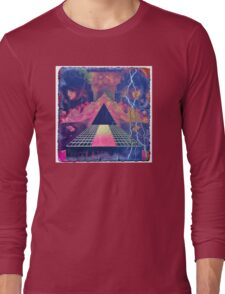 Hollywood/ 80's Dirty Graphics Long Sleeve T-Shirt