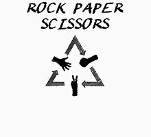 Rock Paper Scissors Unisex T-Shirt