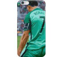 Cristiano Ronaldo is back iPhone Case/Skin