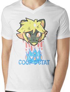 Coup d'etat Mens V-Neck T-Shirt