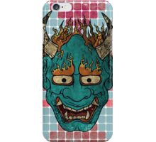 Japanese Demon iPhone Case/Skin