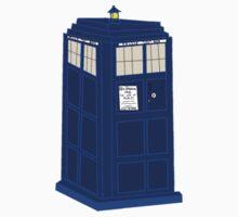 Doctor Who- Tardis One Piece - Long Sleeve