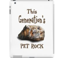 This Generation's Pet Rock - IPad, Tablet, IPhone Cases iPad Case/Skin