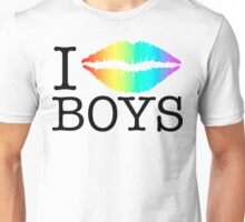 i kiss boys Unisex T-Shirt