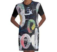 Schwarzwurst (Black Sausage) Graphic T-Shirt Dress