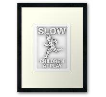 Slow Children at Play Framed Print