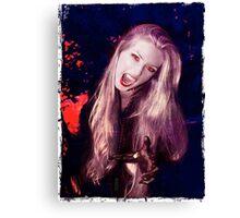 Vamp of the Night Canvas Print