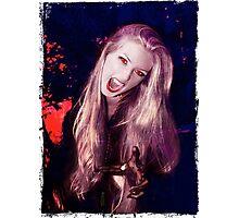 Vamp of the Night Photographic Print