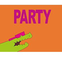 Lee's PARTY gator - Gravity Falls Photographic Print