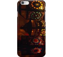Stained Glass Mosaic Lanterns - Print iPhone Case/Skin