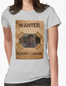 Buffy Ted Wanted 1 Womens Fitted T-Shirt