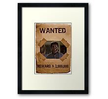 Buffy Ted Wanted 1 Framed Print