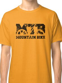 Mountain Bike Vintage MTB Distressed Design Classic T-Shirt